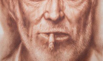 Beispiel 4 Porträt trockener Pinsel