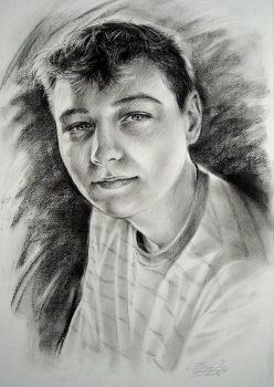 kohle-pastell-portrait-ingamih-Andrej-2010-70x50cm