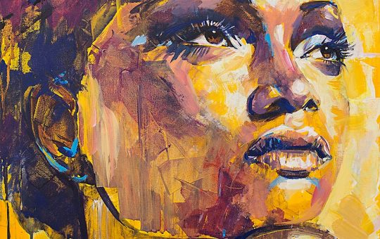 Acryl-Portraits